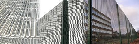 Security Mesh Perimeter Fencing Barrier