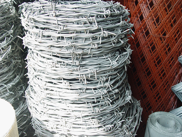 PVC Coated & Galvanized Barbed Wire